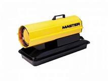 Нагреватель жидкотопл. Master B70CED; прям.нагр, 20кВт, 400м3/ч, 250°С, 1,7л/ч, 81х35х46см, 17кг